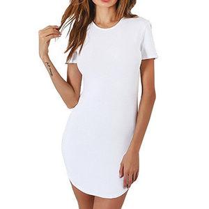 Dresses & Skirts - Sexy Slim Bodycon Mini Shirt Dress Size S/M